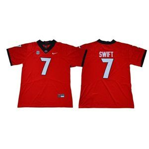 Georgia Bulldogs D'Andre Swift Red Jersey